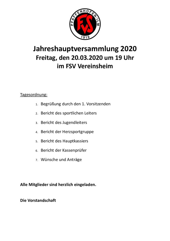 thumbnail of Einladung Jahreshauptversammlung 2020